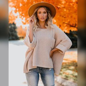 VICI Cloudy Day Sweater - Natural